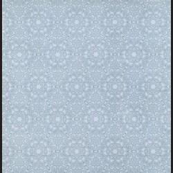 Papír na scrapbook 30,5 x 30,5 cm - Ornament šedý