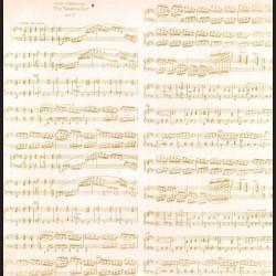 Papír na scrapbook 30,5 x 30,5 cm - Noty hudební