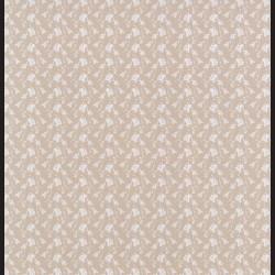Papír na scrapbook 30,5 x 30,5 cm - Kvítka kávová
