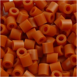 Korálky zažehlovací - cihlové, 5 x 5 mm, 850ks