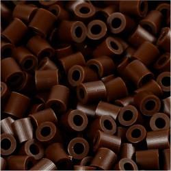 Korálky zažehlovací - čokoládové, 5 x 5 mm, 6000ks