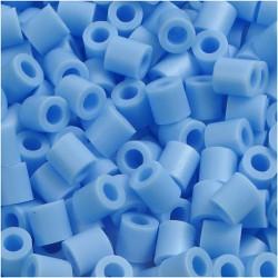Korálky zažehlovací - pastelově modré, 5 x 5 mm, 850ks