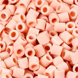 Korálky zažehlovací - růžové, 5 x 5 mm, 850 ks
