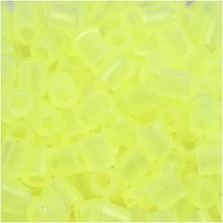 Korálky zažehlovací -  neonové žluté, 5 x 5 mm, 850ks