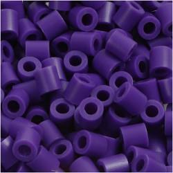 Korálky zažehlovací - tmavě fialové, 5 x 5 mm, 6000ks