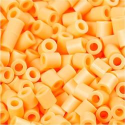 Korálky zažehlovací - světle oranžové, 5 x 5 mm, 6000ks