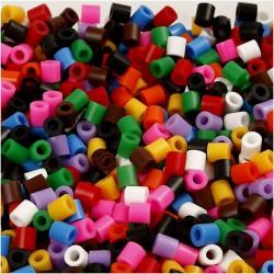 Korálky zažehlovací - mix barev, 5 x 5 mm, 850 ks