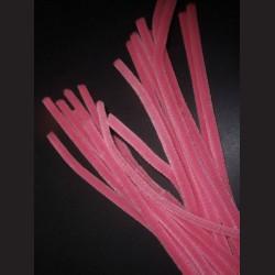 Plyšový drátek růžový