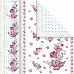 Papír na scrapbook 30,5 x 30,5 cm - Růže