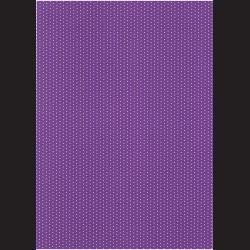 Fotokarton A4 Puntíkovaný tmavě fialový