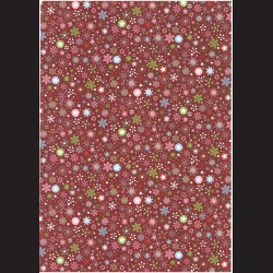 Fotokarton A4 Vánoční vzor