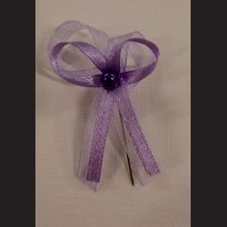 Svatební mašlička - fialová