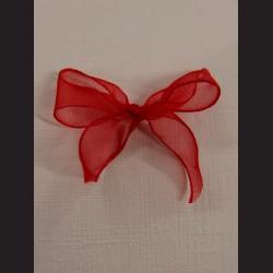 Svatební mašlička - červená, 18ks