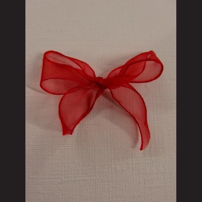 Svatební mašlička červená