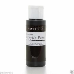 Akrylová barva, 59 ml - černá