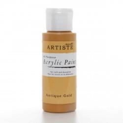 Akrylová barva, 59 ml - antická zlatá
