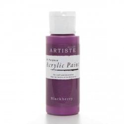 Akrylová barva - ostružinová, 59 ml
