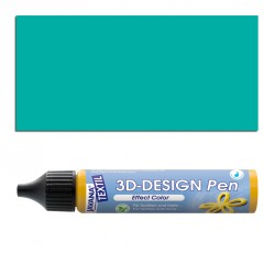 3D nafukovací barva - zelená, 29 ml