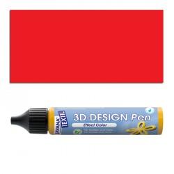 3D nafukovací barva - červená