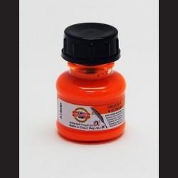 Tuš fluorescenční oranžová, 20g