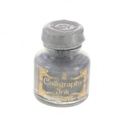 Kaligrafický inkoust stříbrný, 30ml