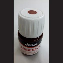 Barva na porcelán Darwi, 30 ml - hnědá