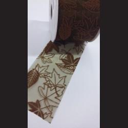 Stuha Moss s hnědými listy