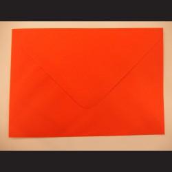 Balení obálek 10 ks - sytě oranžové, C5