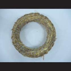 Věnec ze slámy, 25 cm