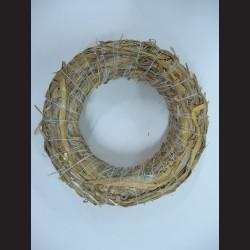 Věnec ze slámy, 16 cm
