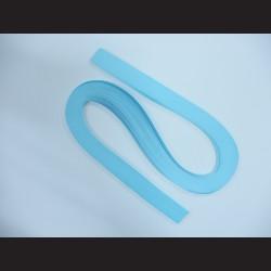 Papírové pásky - světle modré, 3mm