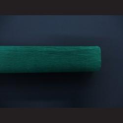 Krepový papír tmavě zelený