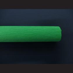 Krepový papír světle zelený
