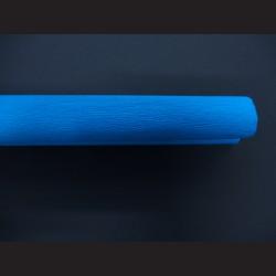 Krepový papír azurový
