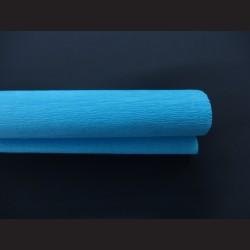 Krepový papír světle azurový