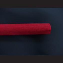 Krepový papír karmínový
