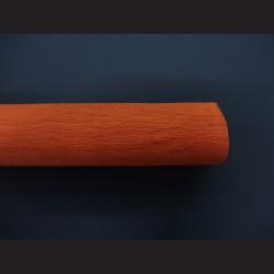 Krepový papír oranžový