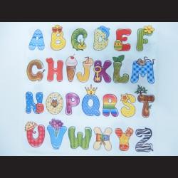 Ubrousek - abeceda