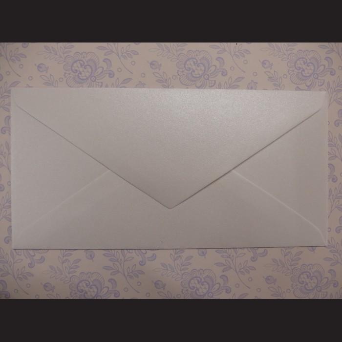 Obálka perleťová - 23 x 11 cm, 10 ks