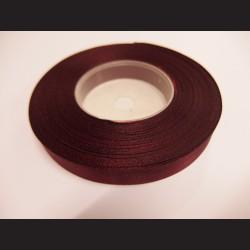 Stuha atlasová - vínová, 12 mm