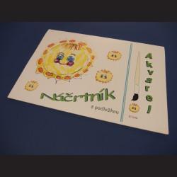 Náčrtník A4 -akvarel, 20 listů