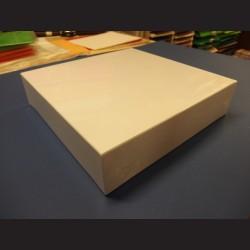 Bílá krabice čtverec - velká, 31x7,5cm