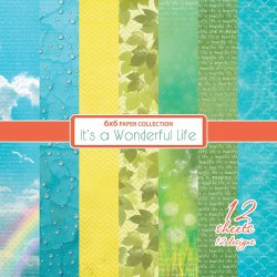 Scrapbooková sada - It's Wonderful Life, 15x15