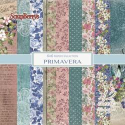 Scrapbooková sada - Primavera, 15x15