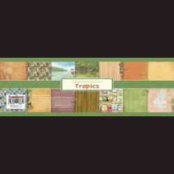 Scrapbooková sada - Tropics, 30,5 x 30,5