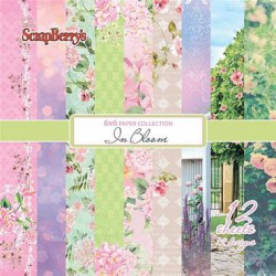 Scrapbooková sada - In Bloom, 30,5 x 30,5
