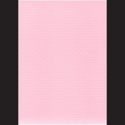 Fotokarton A4 Puntíky růžové