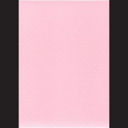 Fotokarton  A4 puntíky růžové, tvrdý karton 300g vhodný na výrobu přání, tvoření s dětmi, scrapbook a další tvoření