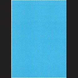 Fotokarton  A4 puntíky modré, tvrdý karton 300g vhodný na výrobu přání, tvoření s dětmi, scrapbook a další tvoření