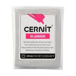 Cernit Glamour - stříbrný, 56 g